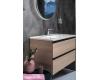 Armadi Art CAPOLDA 85 Light Wood – Тумба с керамической раковиной