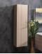Capolda 35 Light Wood – Пенал для ванной подвесной, 120 см