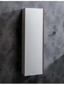 Armadi Art CAPOLDA Белый – Подвесной пенал для ванной, ручка Орех