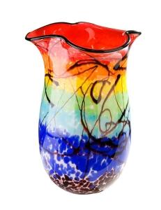 Casablanca Design Стеклянная ваза «Радуга» арт. 87239