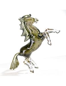 Casablanca Design Стеклянная скульптура «Конь» арт. 87281