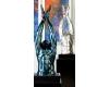 Casablanca Design Скульптура на мраморной подставке «Пловец» арт. 59996