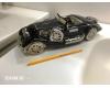 """Керамический автомобиль чёрно-серебристый Casablanca """"Старое время"""" арт. 36504"""