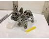 Керамическая копилка Casablanca Design «Бульдоги» серебристая арт. 36901