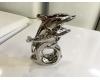 Керамическая фигурка Casablanca Design Дельфин арт. 36830 Серебристый