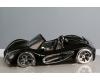 """Керамический автомобиль чёрно-серебристый Casablanca """"Кабриолет"""" арт. 36155"""