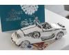 """Керамический автомобиль бело-серебристый Casablanca """"Старое время"""" арт. 36758"""