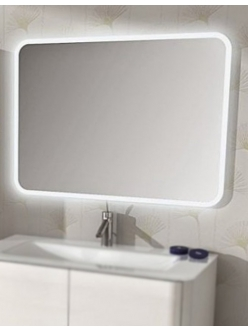 Зеркало для ванной Cezares 44993 прямоугольное с подсветкой, 95х70 см
