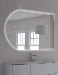 Cezares Moderno 45030 Зеркало для ванной с LED подсветкой, 120х80 см