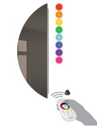 Cezares Moderno 45031 Зеркало бронзированное с LED RGB подсветкой, 30х80 см