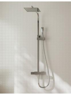 Clever Nine Xtreme 60135 Душевая система термостатическая, регулируемая по высоте