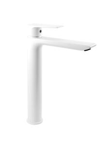 Clever Agora Xtreme 60706 Высокий смеситель для раковины, Белый матовый