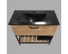 Comforty Бредфорд 00004148003 – Тумба напольная 1 ящик 90 см с раковиной