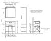 Comforty Бредфорд 00004149064 – Тумба напольная 1 ящик 75 см с раковиной
