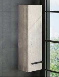 Comforty Дюссельдорф Шкаф-колонна 35 см, дуб дымчатый