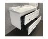 Comforty Феррара 00004148009 – Тумба подвесная 2 ящика 100 см с раковиной