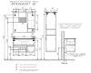 Comforty Франкфурт 00004151573  – Тумба подвесная 2 ящика 90 см с раковиной