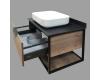 Comforty Кёльн 00004149065 – Тумба подвесная 1 ящик 75 см с раковиной