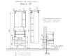 Comforty Прага 00004149572 – Тумба подвесная 60 см с раковиной