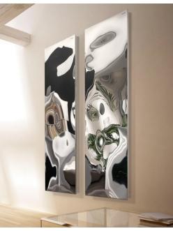 Cordivari Blow – Дизайнерский водяной полотенцесушитель из нержавеющей стали