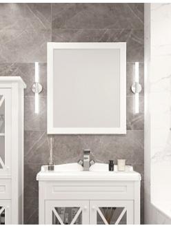 Creto Vetra 15-80100W – Зеркало 80 см белый
