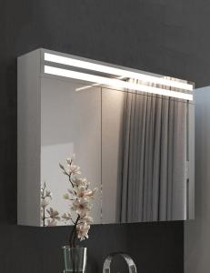 De Aqua Эколь 100 – Зеркальный шкаф с подсветкой