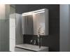 De Aqua Эколь 100 – Зеркальный шкаф для ванной комнаты с подсветкой