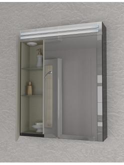 De Aqua Эколь 60 – Зеркальный шкаф для ванной комнаты с подсветкой