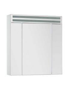 De Aqua Эколь  70 – Зеркальный шкаф с подсветкой