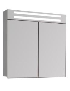 De Aqua Эколь  75 – Зеркальный шкаф с подсветкой