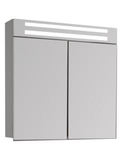 De Aqua Эколь 75 – Зеркальный шкаф для ванной комнаты с подсветкой