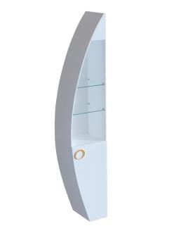 Пенал для ванной комнаты De Aqua Эскалада RS0 открытый с ручками Арт