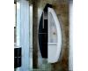Пенал для ванной комнаты De Aqua Эскалада RS1 закрытый