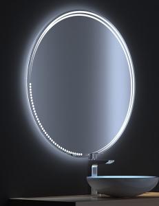 De Aqua Альфа – Зеркало с LED-подсветкой и сенсором