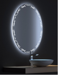 De Aqua Декор – Зеркало с LED-подсветкой и сенсором