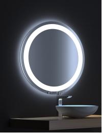 De Aqua Мун – Зеркало с LED-подсветкой и сенсором