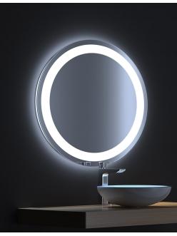 De Aqua Мун – Зеркало для ванной со светодиодной LED-подсветкой и сенсором