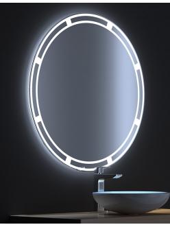 De Aqua Омега – Зеркало для ванной со светодиодной LED-подсветкой и сенсором