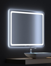 De Aqua Смарт – Зеркало с LED-подсветкой и сенсором