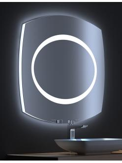 De Aqua Виктория – Зеркало для ванной со светодиодной LED-подсветкой и сенсором