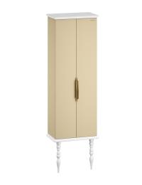 Edelform Decora 59 – пенал двойной для ванной, жемчужно-бежевый