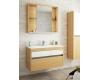 Edelform Unica 80 Зеркальный шкаф для ванной с откатной дверцей