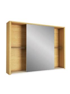 Edelform Unica 100 Зеркальный шкаф для ванной с откатной дверцей