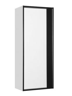 Style Line Амстердам 45 Пенал подвесной, Белый матовый/черный