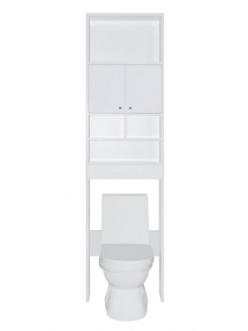 Style Line Эко 55 Пенал над унитазом, Белый глянец