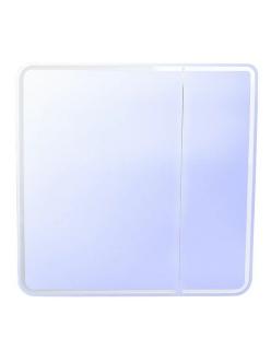 Style Line Каре 80 Зеркальный шкаф с подсветкой, Белый