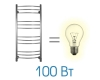 Электрический полотенцесушитель Energy Ergo 1200x500 (Энерджи Эрго)