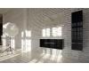 Eqloo Aura – прямоугольное зеркало для ванной со светодиодной LED подсветкой