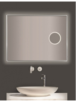 Esbano ES-3803YDF Зеркало для ванной с подсветкой и подогревом