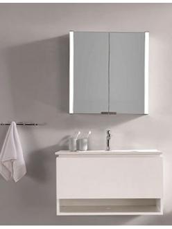 Esbano ES-3815 Зеркальный шкаф для ванной с подсветкой, 80х70 см
